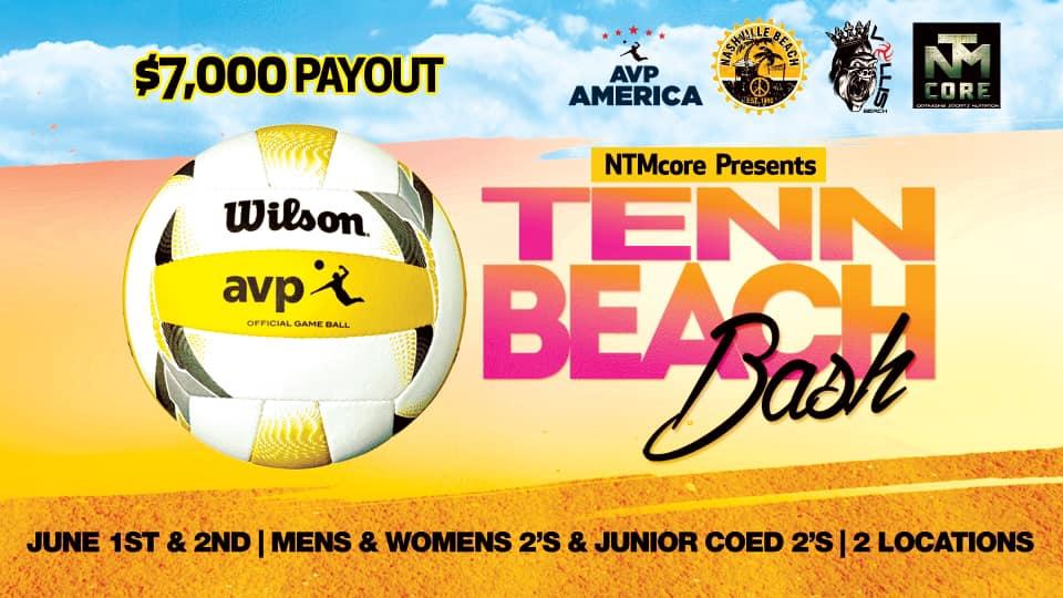 $7,000 Tenn Beach Bash Presented by NTMcore - Volley Radar